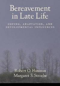 bokomslag Bereavement in Late Life
