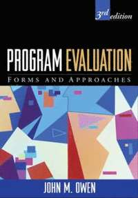 bokomslag Program Evaluation, Third Edition: Forms and Approaches