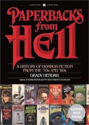 bokomslag Paperbacks from Hell