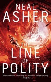 bokomslag The Line of Polity: The Second Agent Cormac Novel