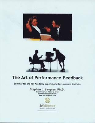 bokomslag The Art of Performance Feedback