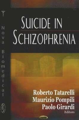 bokomslag Suicide in Schizophrenia