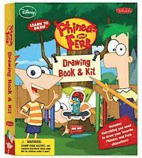 bokomslag Learn to Draw Phineas and Ferb Drawing Book & Kit [With Ruler and Pens/Pencils and Eraser and Sharpener and Marker and Paper]