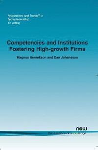 bokomslag Competencies and Institutions Fostering High-growth Firms