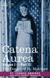 bokomslag Catena Aurea