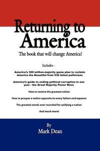 bokomslag Returning to America