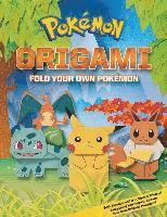 bokomslag Pokemon Origami: Fold Your Own Pokemon!