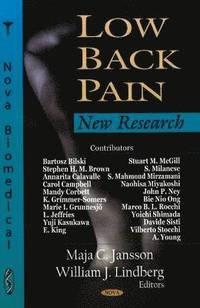 bokomslag Low Back Pain