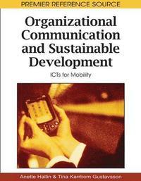 bokomslag Organizational Communication and Sustainable Development