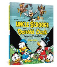 "bokomslag Walt Disney's Uncle Scrooge and Donald Duck: ""Return to Plain Awful"" the Don Rosa Library Vol. 2"