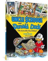 bokomslag Walt Disney Uncle Scrooge and Donald Duck: 'the Last of the Clan McDuck' (the Don Rosa Library Vol. 4)