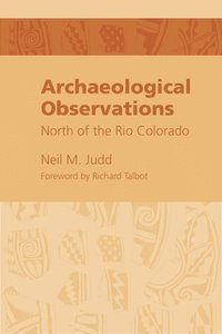 bokomslag Archeological Observations North of the Rio Colorado