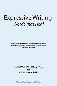 bokomslag Expressive Writing: Words That Heal