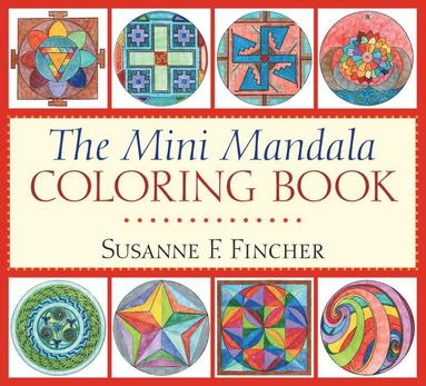bokomslag The Mini Mandala Coloring Book