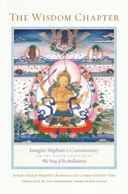 bokomslag Wisdom chapter - jamgon miphams commentary on the ninth chapter of the way