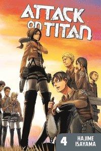 bokomslag Attack on titan 4
