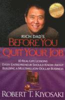 bokomslag Rich Dad's Before You Quit Your Job
