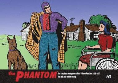 bokomslag THE PHANTOM the Complete Newspaper Dailies by Lee Falk and Wilson McCoy:  Volume Fourteen 1956-1957