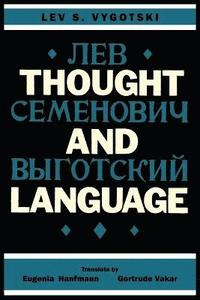 bokomslag Thought and Language