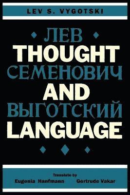bokomslag Thought and Language