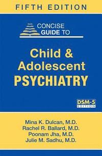 bokomslag Concise Guide to Child and Adolescent Psychiatry
