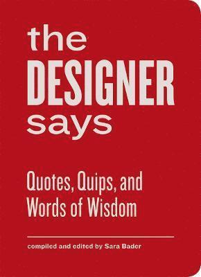bokomslag The Designer Says