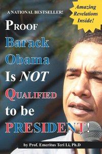 bokomslag Proof Barack Obama Isn't Qualified to Be President! (Notebook)