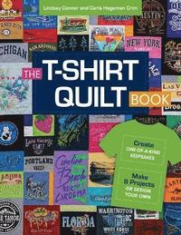 bokomslag T-shirt quilt book - recycle your tees, 8 exciting projects
