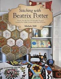 bokomslag Stitching with beatrix potter - stitch, sew & give 10 adorable projects