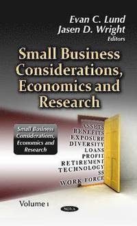 bokomslag Small Business Considerations, Economics &; Research