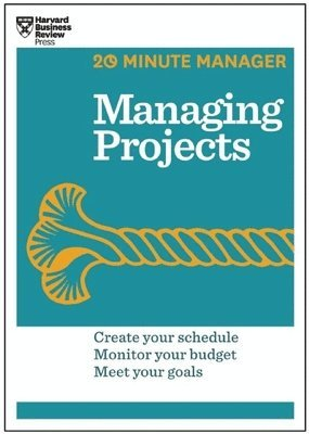 bokomslag Managing projects (hbr 20-minute manager series)