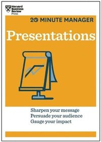 bokomslag Presentations (hbr 20-minute manager series)