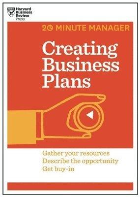 bokomslag Creating Business Plans (HBR 20-Minute Manager Series)