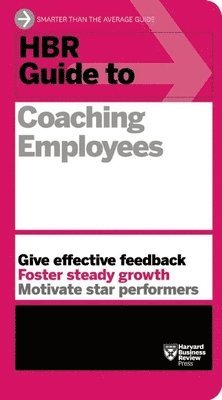 bokomslag HBR Guide to Coaching Employees (HBR Guide Series)