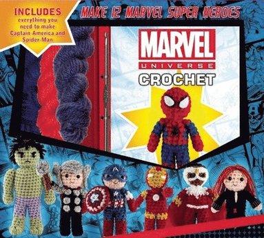 bokomslag Marvel Universe Crochet