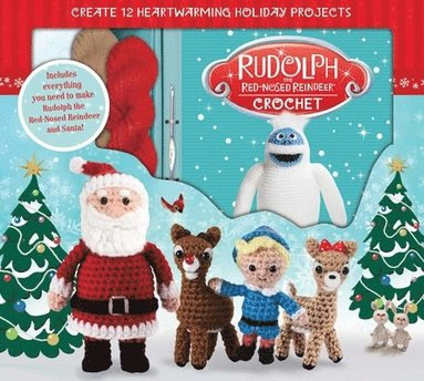 bokomslag Rudolph the Red-Nosed Reindeer Crochet