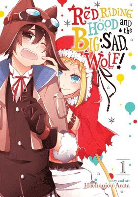 bokomslag Red riding hood and the big sad wolf