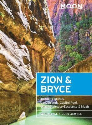 bokomslag Moon zion & bryce, 7th edition - including arches, canyonlands, capitol ree