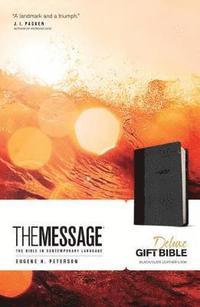 bokomslag Message Deluxe Gift Bible, Black