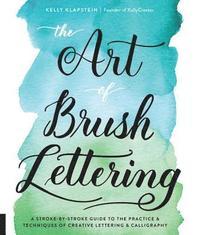 bokomslag The Art of Brush Lettering