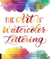 bokomslag The Art of Watercolor Lettering