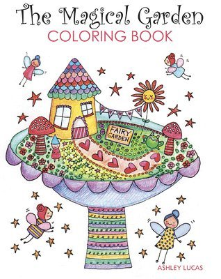 bokomslag The Magical Garden Coloring Book