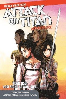 bokomslag Attack on titan adventure