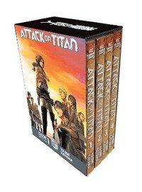 bokomslag Attack On Titan Season 1 Part 1 Manga Box Set