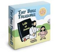 bokomslag Tiny Bible Treasures: The Life of Jesus: An 8 Booklet Set