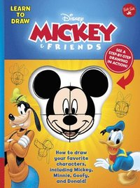 bokomslag Learn to Draw Disney Mickey & Friends: How to Draw Your Favorite Characters, Including Mickey, Minnie, Goofy, and Donald!