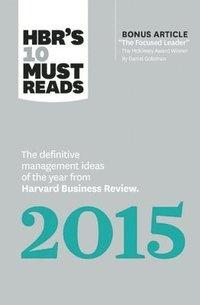 bokomslag HBR's 10 Must Reads 2015