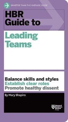 bokomslag Hbr guide to leading teams (hbr guide series)
