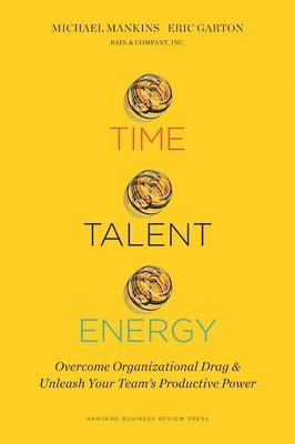 bokomslag Time, talent, energy - overcome organizational drag and unleash your teamϿ