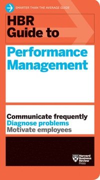 bokomslag HBR Guide to Performance Management (HBR Guide Series)